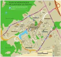 Plan des parkings autocars - Télécharger en PDF